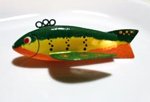 Small Perch - Ice Fishing Decoy